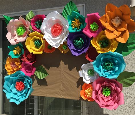 How To Make Mexican Paper Flowers - mexican theme birthday dessert cake
