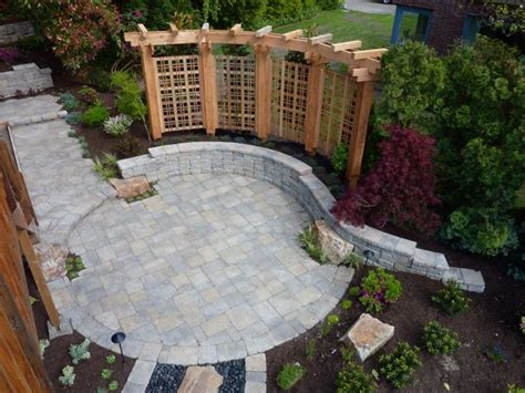 paver patio designs create a beautiful patio using