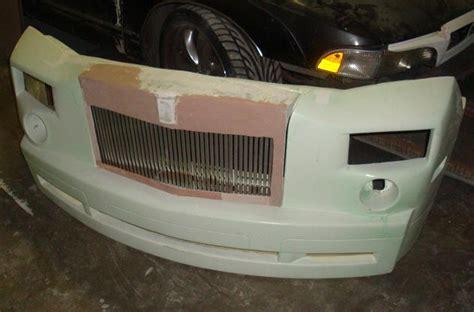 dodge charger     phantom conversion front bumper