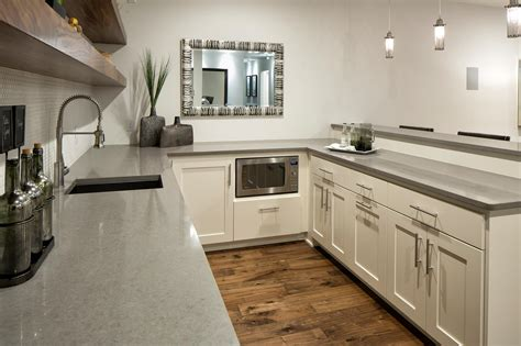 Pebble Countertops by Pebble Ceasarstone Bar Countertops C D Granite