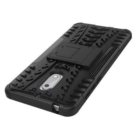 Nokia 6 Rugged Armor rugged armor kickstand skal till nokia 6 vit