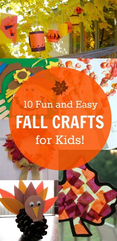 cool fall crafts for 10 and easy fall crafts for these ideas