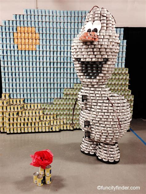 canstruction ideas canstruction competition at the indiana state fair