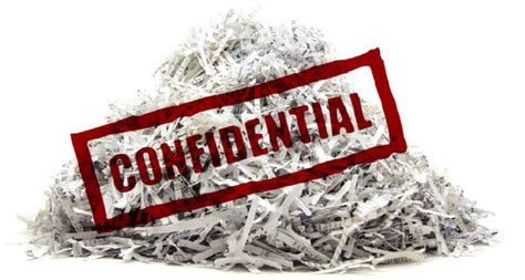 paper shredding secure confidential data