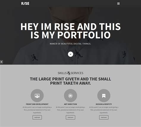 15 best parallax website templates 2016 web graphic