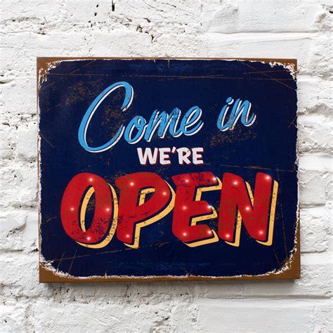 shop open sign lights come in we re open light up sign rex dotcomgiftshop