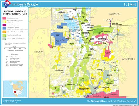 map of federally owned land in usa utah land map afputra