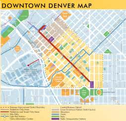 Downtown Map Downtown Denver Map Pictures To Pin On Pinsdaddy