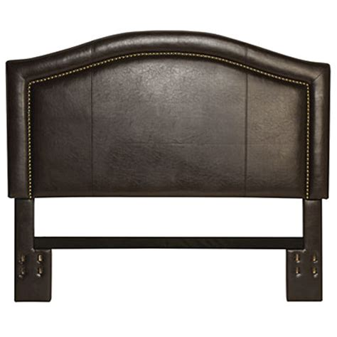 Leather Nailhead Headboard Faux Leather Nailhead Headboard Big Lots