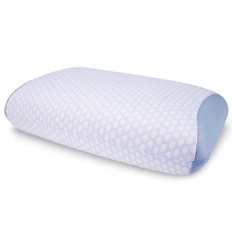 Pillow Gel by The Best Gel Infused Cooling Pillow Hammacher Schlemmer