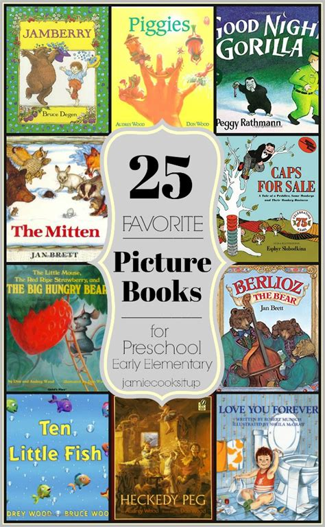 elementary picture books friday s report 25 favorite picture books for preschool