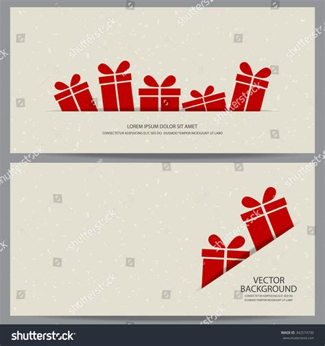 promotion card template and new year gift voucher certificate coupon
