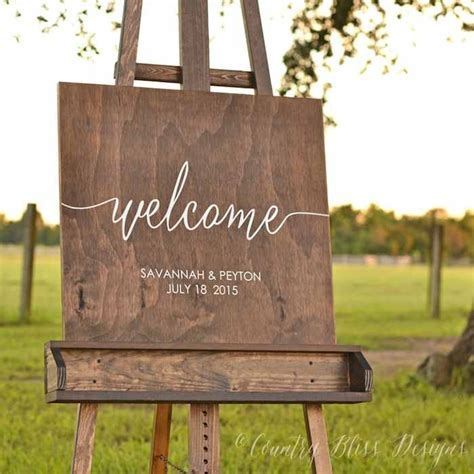 wedding ceremony welcome sign kara s ideas trends i wedding signs