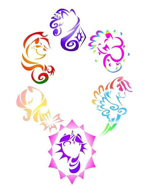mlp tattoo cool design my pony mlp