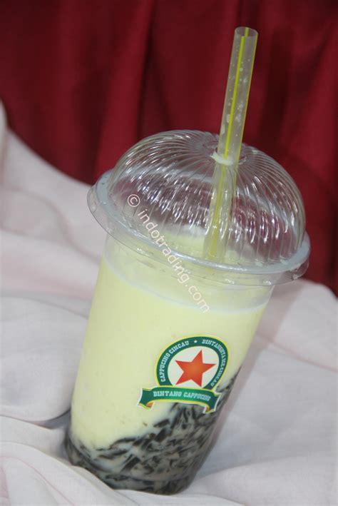 Jual Minuman Segar by Jual Minuman Cappucino Cincau Durian Taste Harga Murah