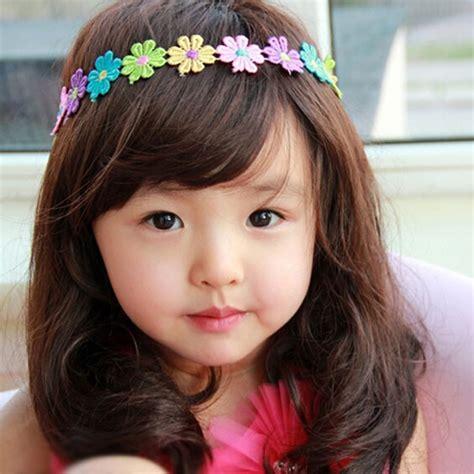rambut anak anak tren model rambut anak perempuan terbaru dan menggemaskan