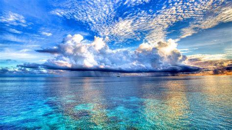 wallpaper hd ocean ocean wallpaper clouds hd desktop wallpapers 4k hd
