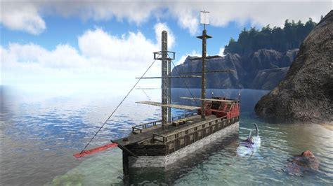 ark survival evolved boat designs steam community screenshot still wip