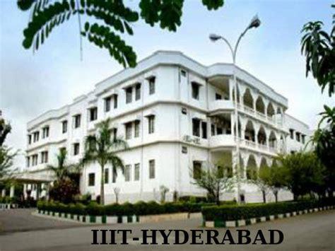 Iiit Hyderabad Mba iiit hyderabad extends dates for pgee 2014