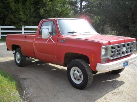 1978 chevy 3 4 ton 4x4 truck 1978 chevy 4wd 3 4 ton ranch truck or pirate4x4 com