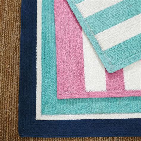 bright pink rug capel cottage stripe rug bright pink pbteen