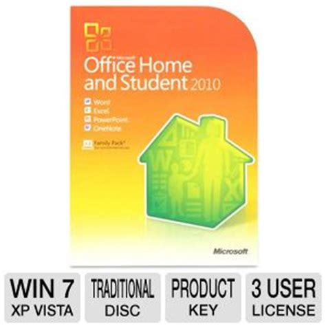 buy the microsoft office home and student 2010 at