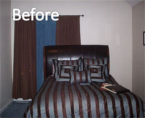 awkward bedroom layout before and after tricky walls