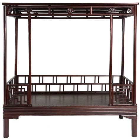 antique canopy bed antique 19th century ju mu six post canopy bed