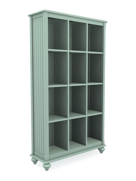 tall wide white bookcase tall wide cottage cubbie bookcase cottage home 174