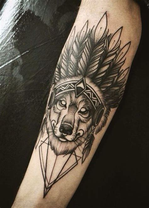 native american wolf tattoo designs american tattoos top 100 for the free spirited