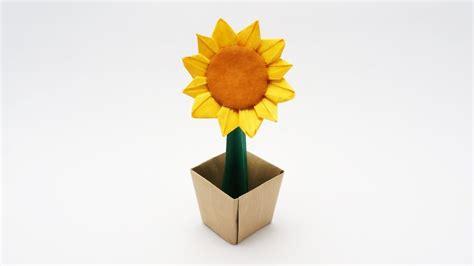 Sunflower Origami - origami sunflower jo nakashima