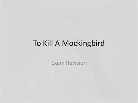 themes in to kill a mockingbird good and evil to kill a mockingbird revision