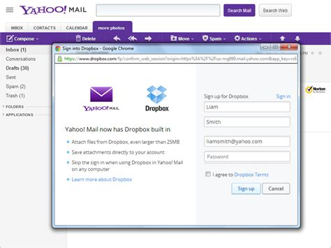 email yahoo english rather than recreate google drive yahoo integrates