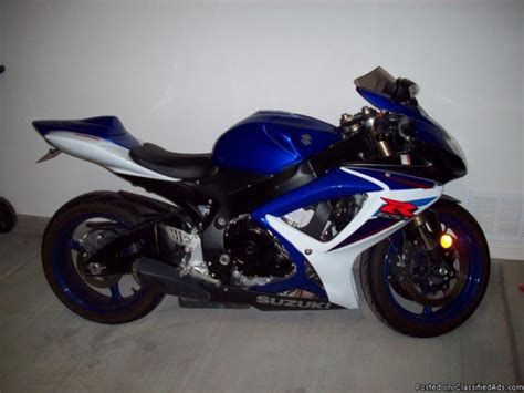 Suzuki Gsxr 600 Price 2007 Suzuki Gsxr 600 Price 6000 In Oro Valley Arizona