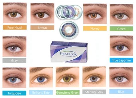 color blend contacts freshlook colorblends 6 pack 74 95