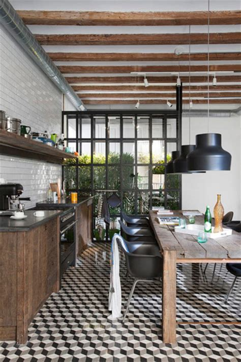 metropolitan home kitchen design sta caterina home living by the market industrial