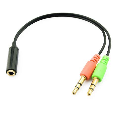 Kabel Aux Audio Splitter 35mm To 2 Vention B08 Blue jual splitter 3 5mm mic headphone cable adapter 2 to aux audio hobiki estore