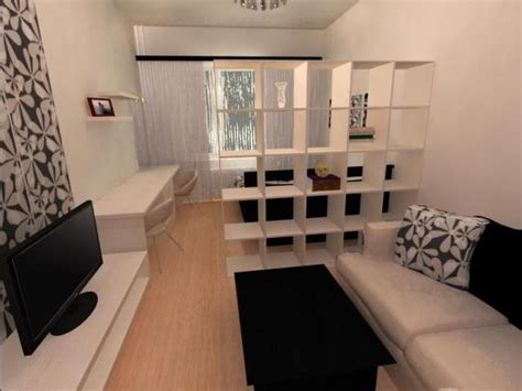 Bed In Living Room Designs by