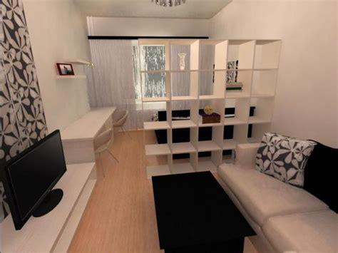 гостиная спальня в одной комнате дизайн и интерьер