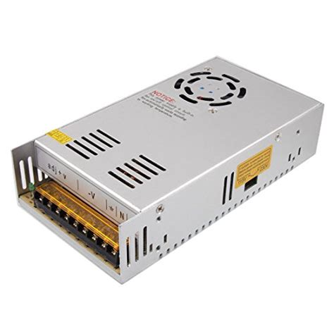 Adaptor 12v 30a xkttsueercrr 12v 30a dc universal regulated switching metal power supply adaptor