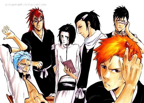 Bleach Hairstyles Anime | bleach 169 kubo tite bleach hairstyles by sideburn004