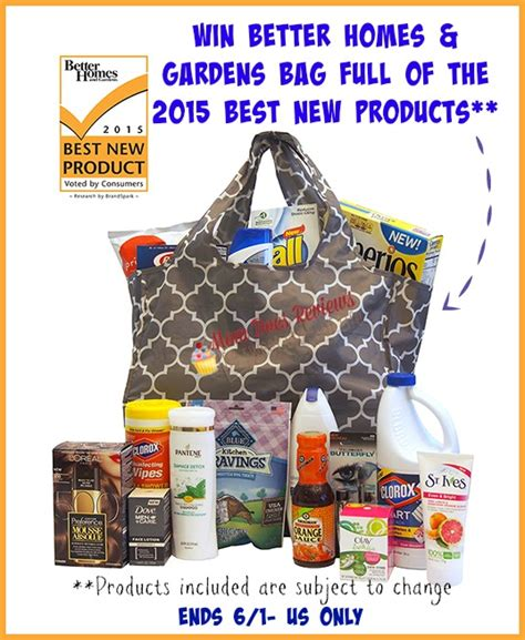 Home And Garden Giveaway 2015 - better homes and garden prize bag giveaway sparkles to sprinkles