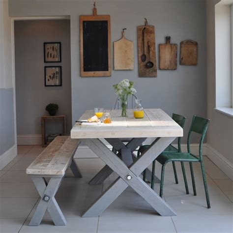reclaimed wood dining table uk reclaimed wood refectory dining table home barn vintage