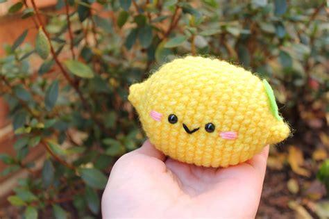 pattern amigurumi food amigurumi food lemon cute amigurumi free pattern