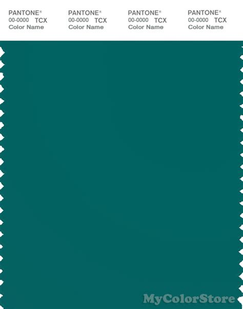 teal green color pantone smart 19 4922 tcx color swatch card pantone teal