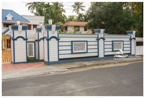 compound wall gate design keralareal estate kerala free