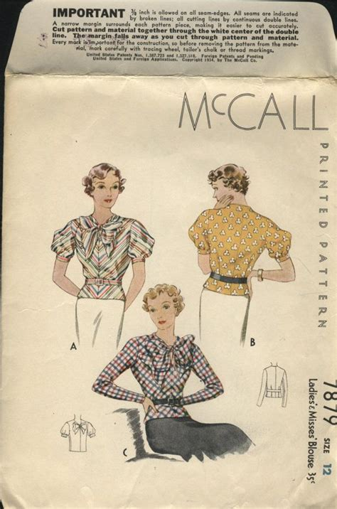 mccall pattern company history 1000 images about 1930 s sewing patterns 1 on pinterest