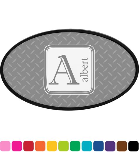 Kontra Cover Plate Oval plate oval trailer hitch cover personalized youcustomizeit