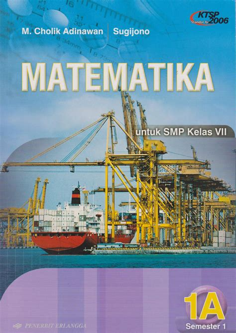 Buku Matematika Smp Jl 2a buku matematika smp jl 1a ktsp m cholik adinawan