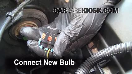 2006 buick lucerne light bulb replacement headlight change 2006 2011 buick lucerne 2006 buick